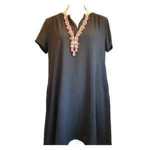LUSH Shift Dress with Pockets - Size Small